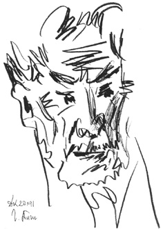 Николай Дронников. Автопортрет